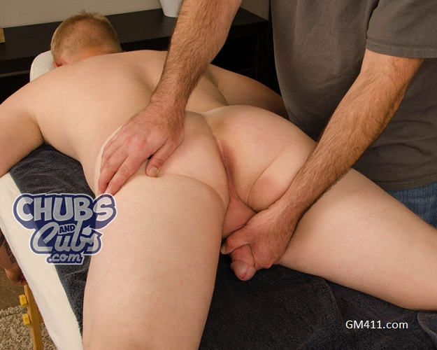 Gay sex - Bryce sex massage from Chubs and Cubs