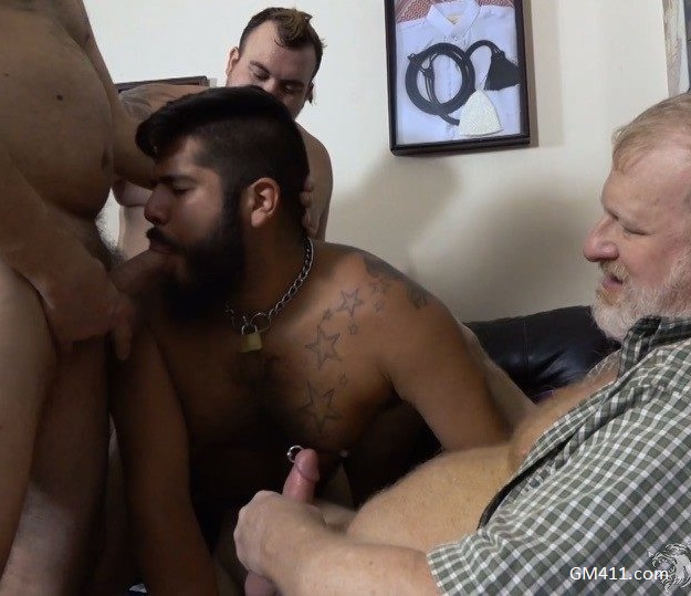 Gay sex - Parolee Violation 2 Derrick Wayne, Hunter Scott, Lanz Adams, Rusty McMann from Monstercub