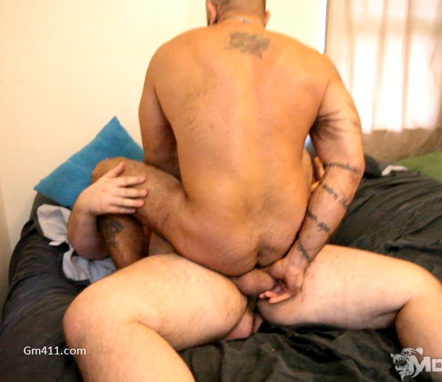 Gay sex - Alessio Romero and Hunter Scott from Monstercub