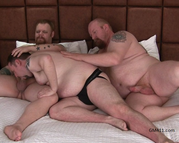 Gay sex - Bubba Michaels, Clint, Pooch McGee from Stockydudes