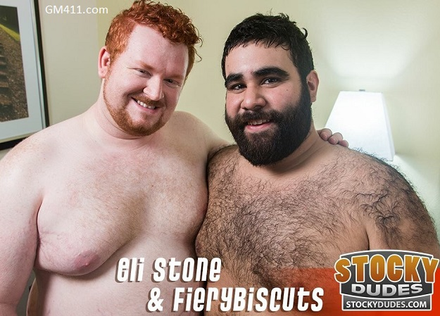 Gay sex - FieryBiscuts and Eli Stone from Stockydudes